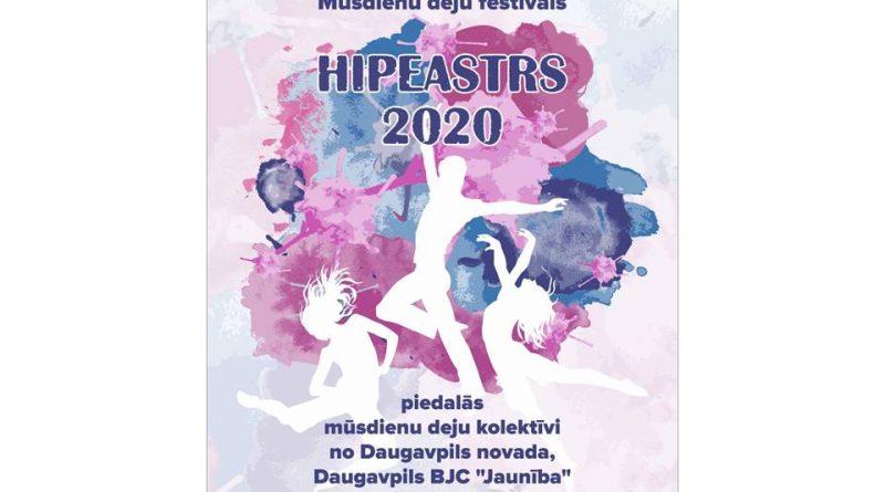 """Daugavpils novada mūsdienu deju festivāls """"""""Hipeastrs 2020"""""""